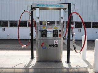 compressed natural gas station