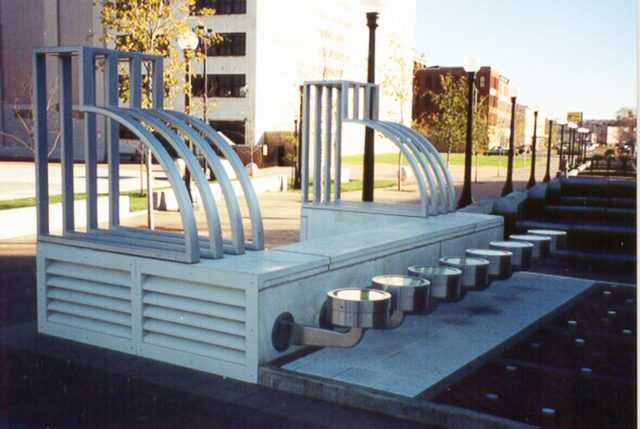Architectural Metal Fabrication - Outdoor Seating