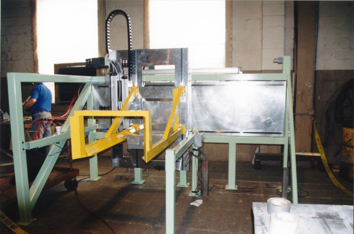 machine guarding around conveyor system