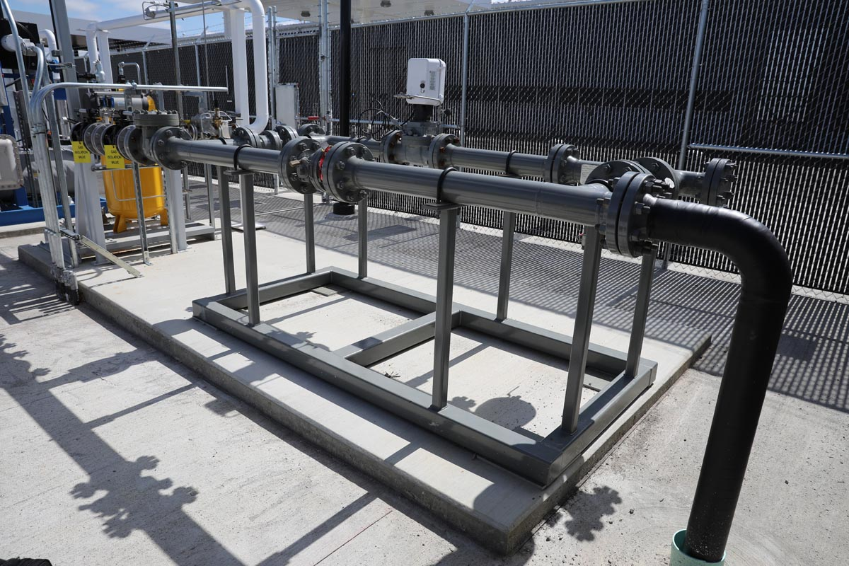 Custom Industrial Piping Systems - CNG Piping
