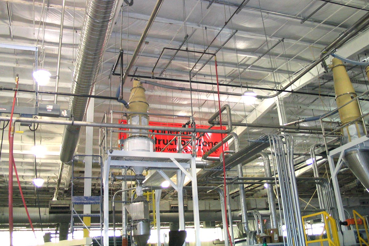 Custom Industrial Piping Systems