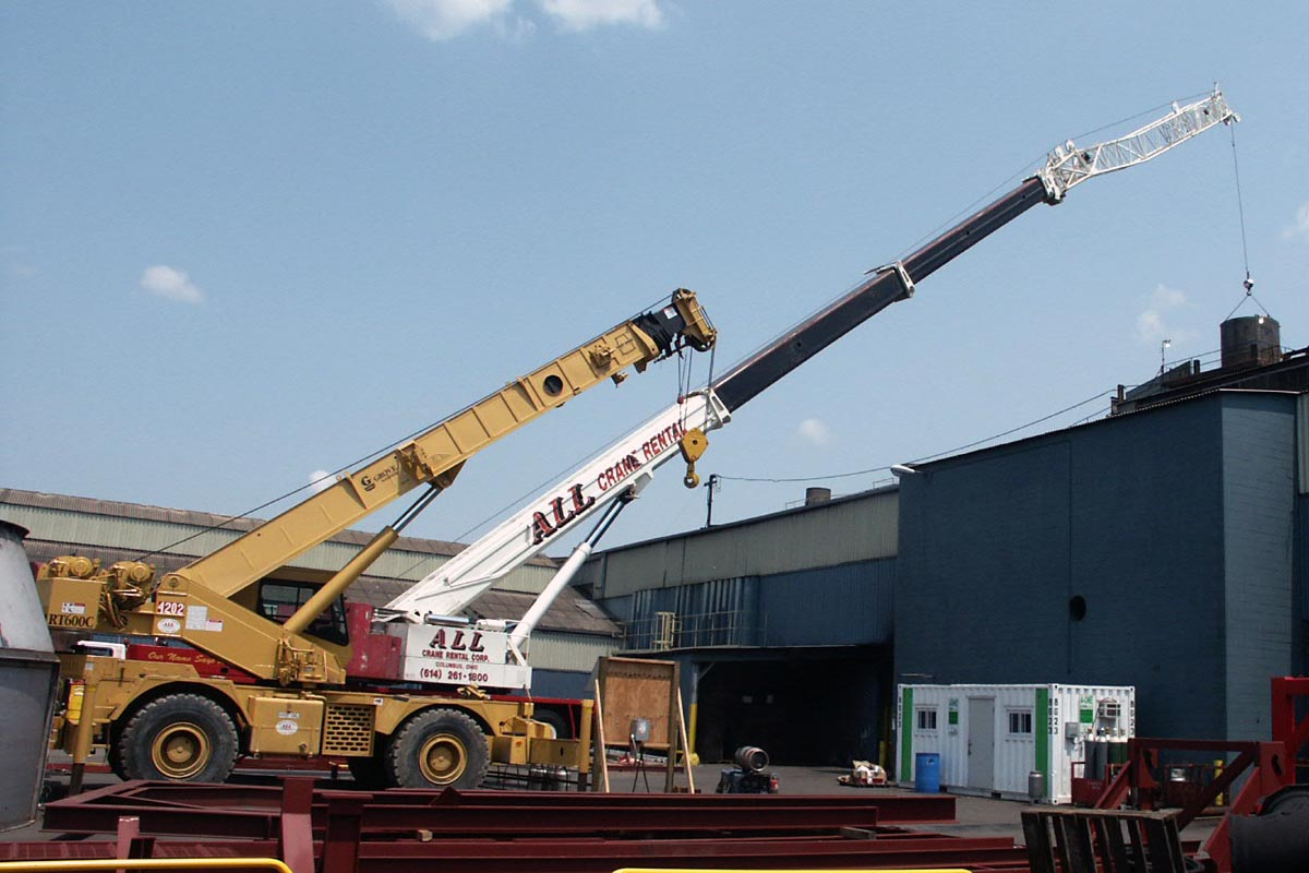 Heavy Equipment Relocation - Large Crane
